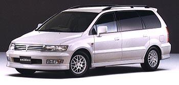 mitsubishi chariot 1998 года vin