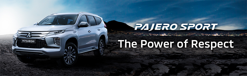PAJERO SPORT The Power of Respect